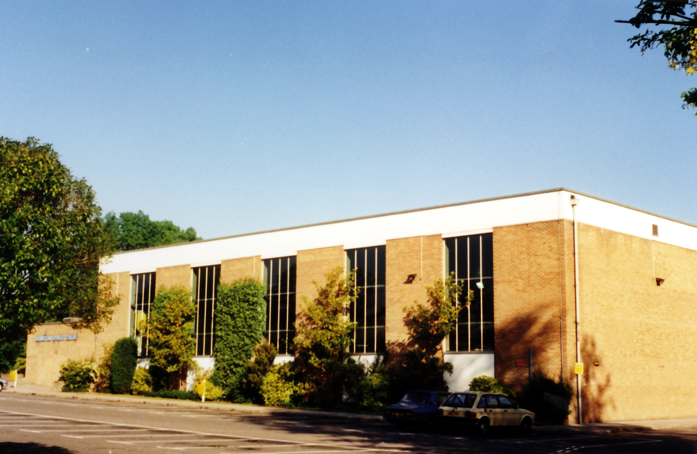 Bramston Sports Centre and Swimming Pool, opened in 1974 as one of the features of the Town expansion.