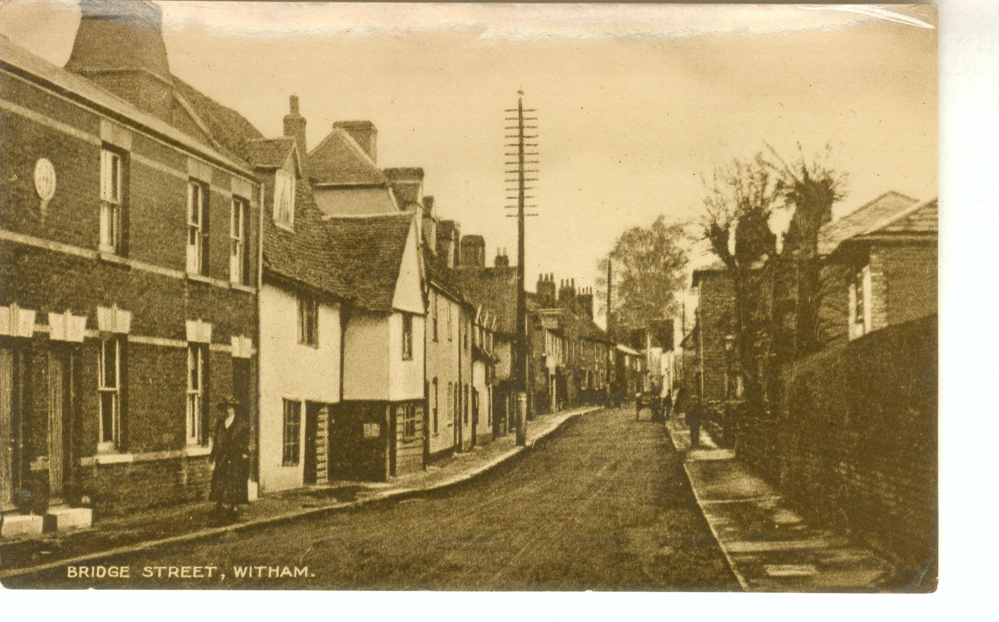 Bridge Street, looking west, discussed below.