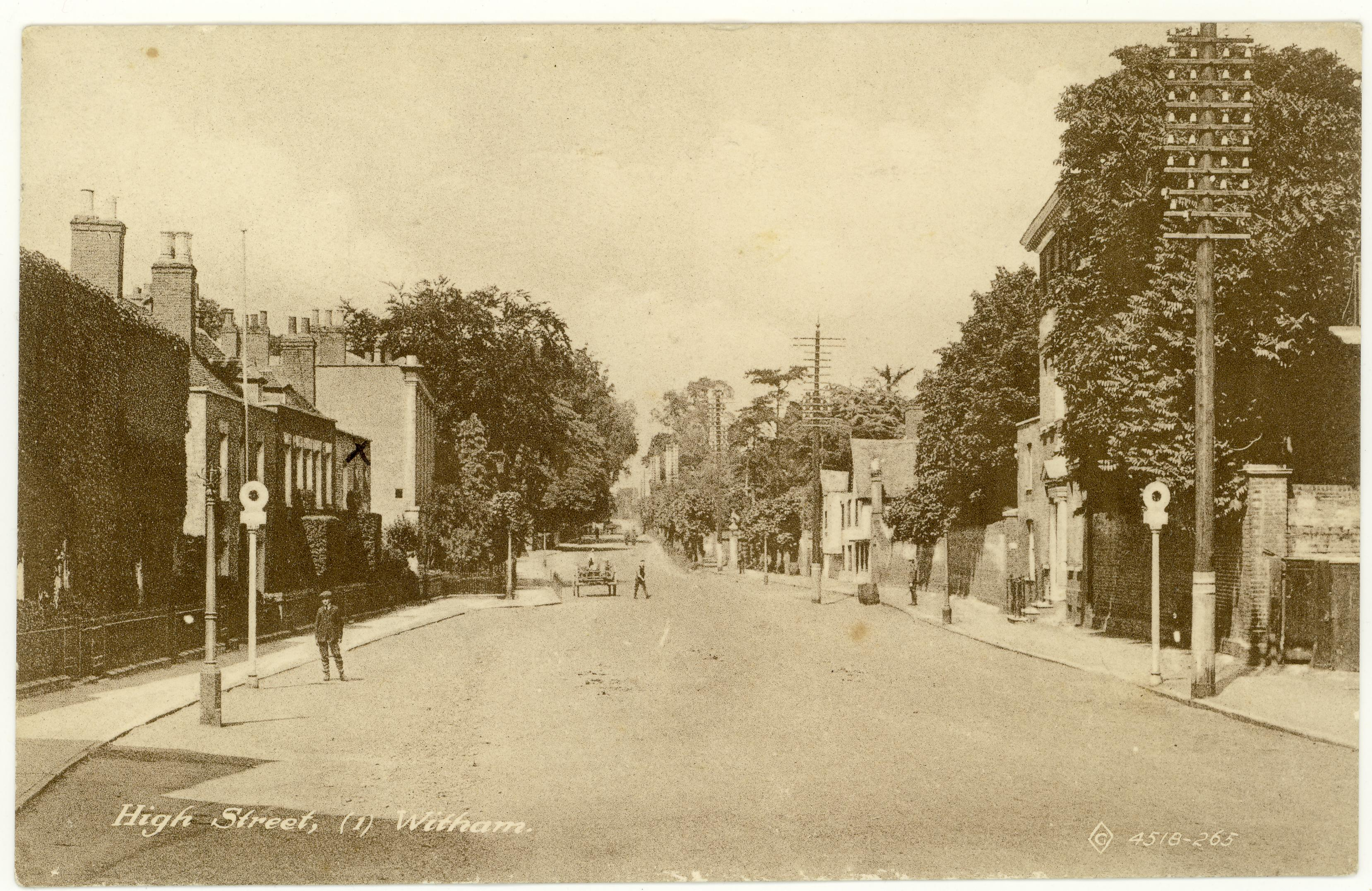 The top end of Newland Street, as discussed below.