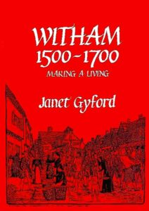 Cover of Witham 1500-1700: Making a Living