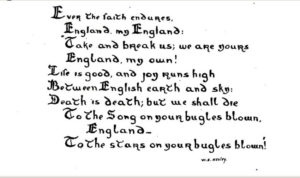 muster in english
